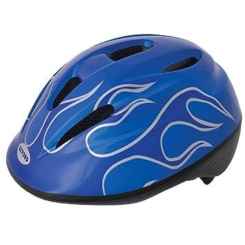 llamas azules H-510-GR Tama/ño S Protectwear Casco de moto mate azul