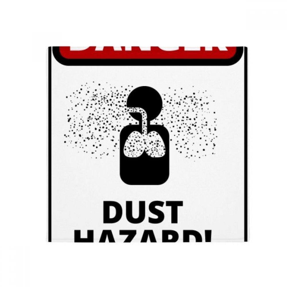 DIYthinker Danger Symbol Air Pollution Illustration Anti-Slip Floor Pet Mat Square Home Kitchen Door 80Cm Gift
