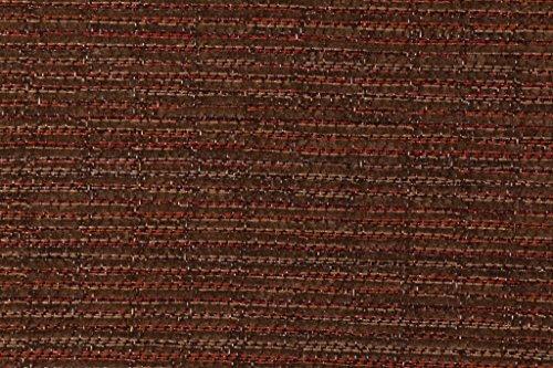 Fabric Sling Patio (Sunbrella FF5318-0000 Casteele in Java Woven Vinyl Mesh & Acrylic Sling Chair Outdoor Fabric)