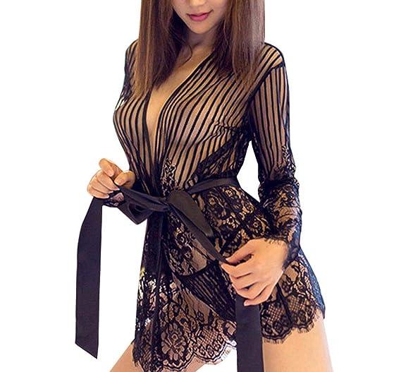 fd7ff6ea7234 Amazon.com  Sexy Robes Lingerie