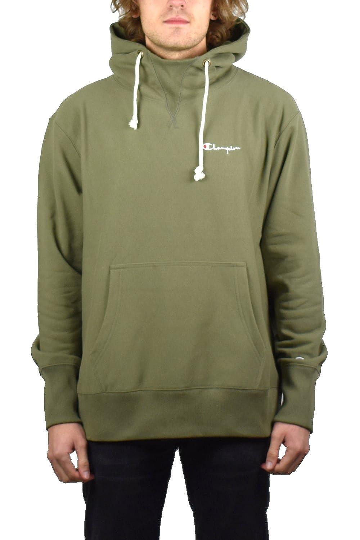 Champion Reverse Weave Herren Sweatshirt Grün olivgrün