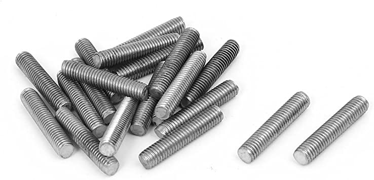 M5 x 70 mm 304 Stainless Steel Fully Threaded Rod Rod Screws Fasteners 10 Pieces