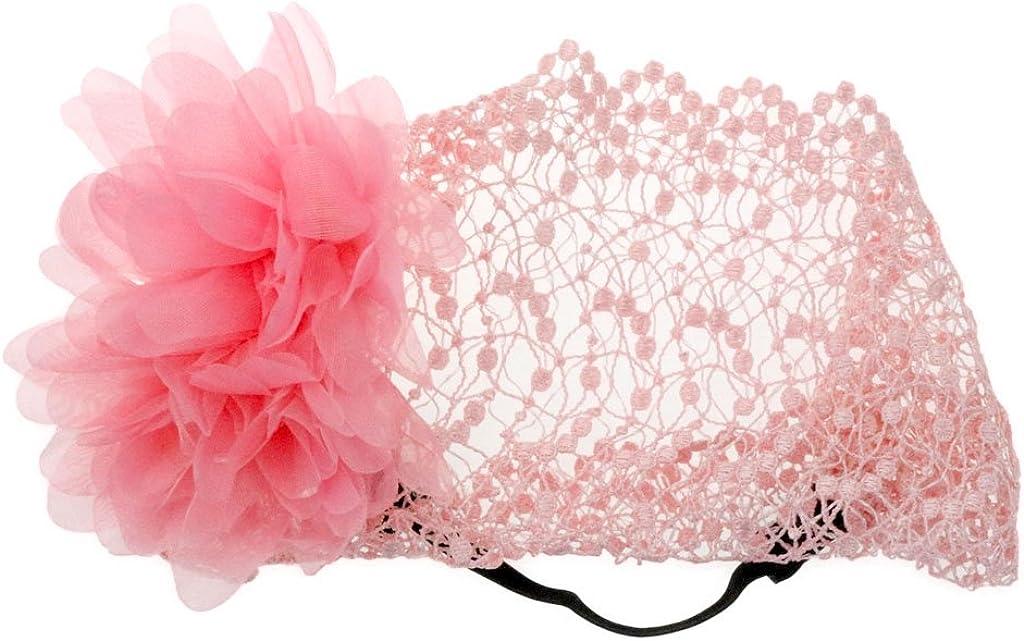 BONAMART /® Baby Girls Princess Hair Net Bands Hair Netband Lace Accessories Flower Newborn 8 Years Old