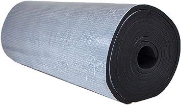 D/ämmmatten Selbstklebende Kautschuk Isoliermatten 19mm D/ämmung Isolierung 1m/² 19mm - 8m/² 1 Karton 6m/² Markenqualit/ät Insul-Roll XT