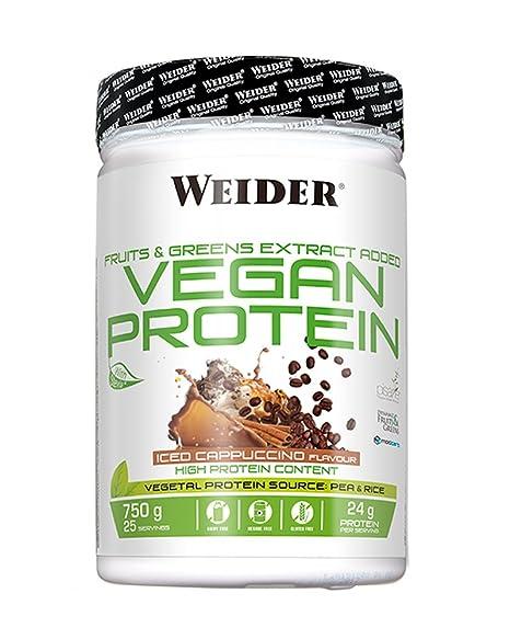 Weider Vegan Protein Sabor Ice Cappuccino - 750 gr