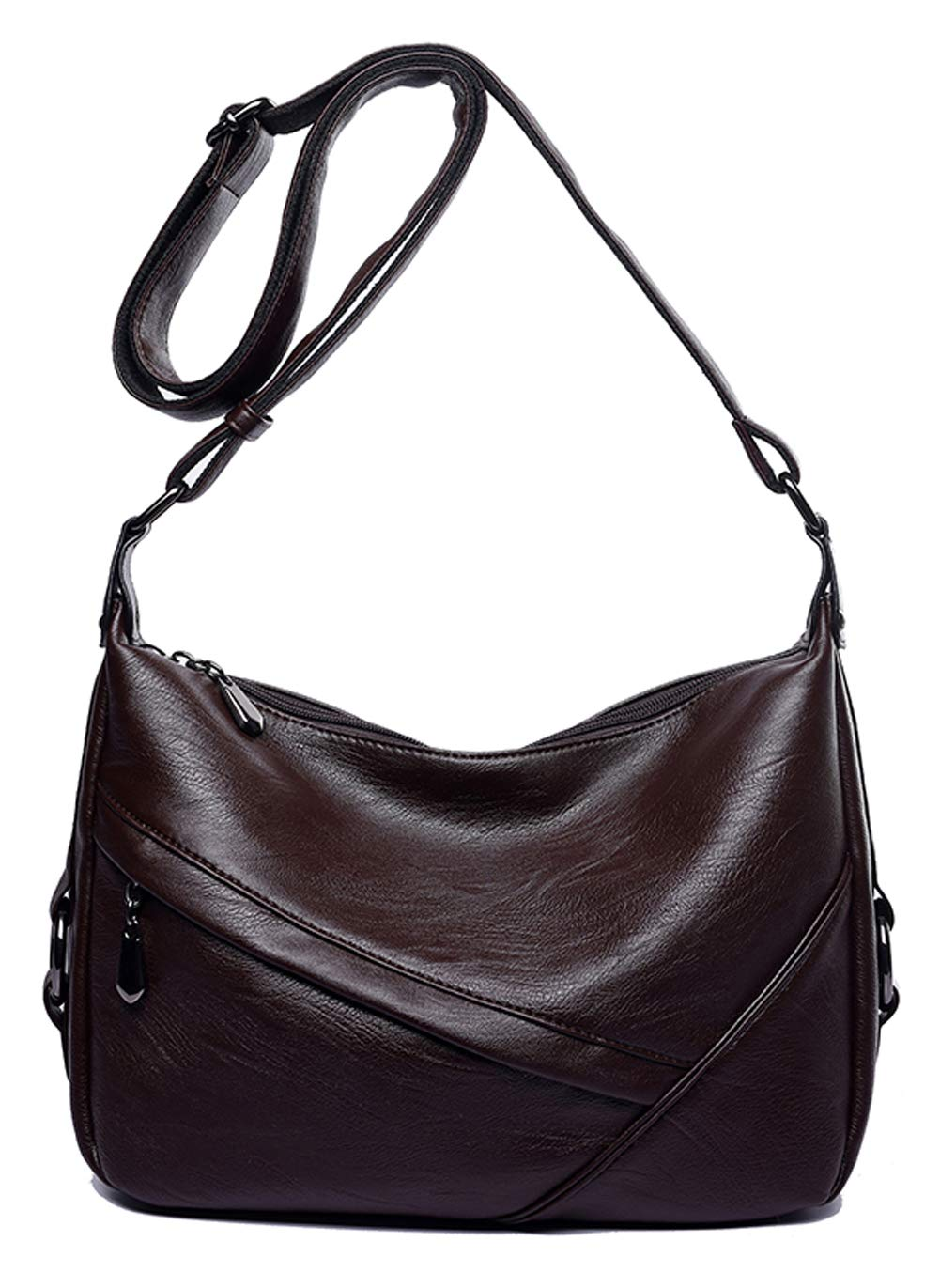 af99681c9cc4 Women's Retro Sling Shoulder Bag from Covelin, Leather Crossbody Tote  Handbag product image
