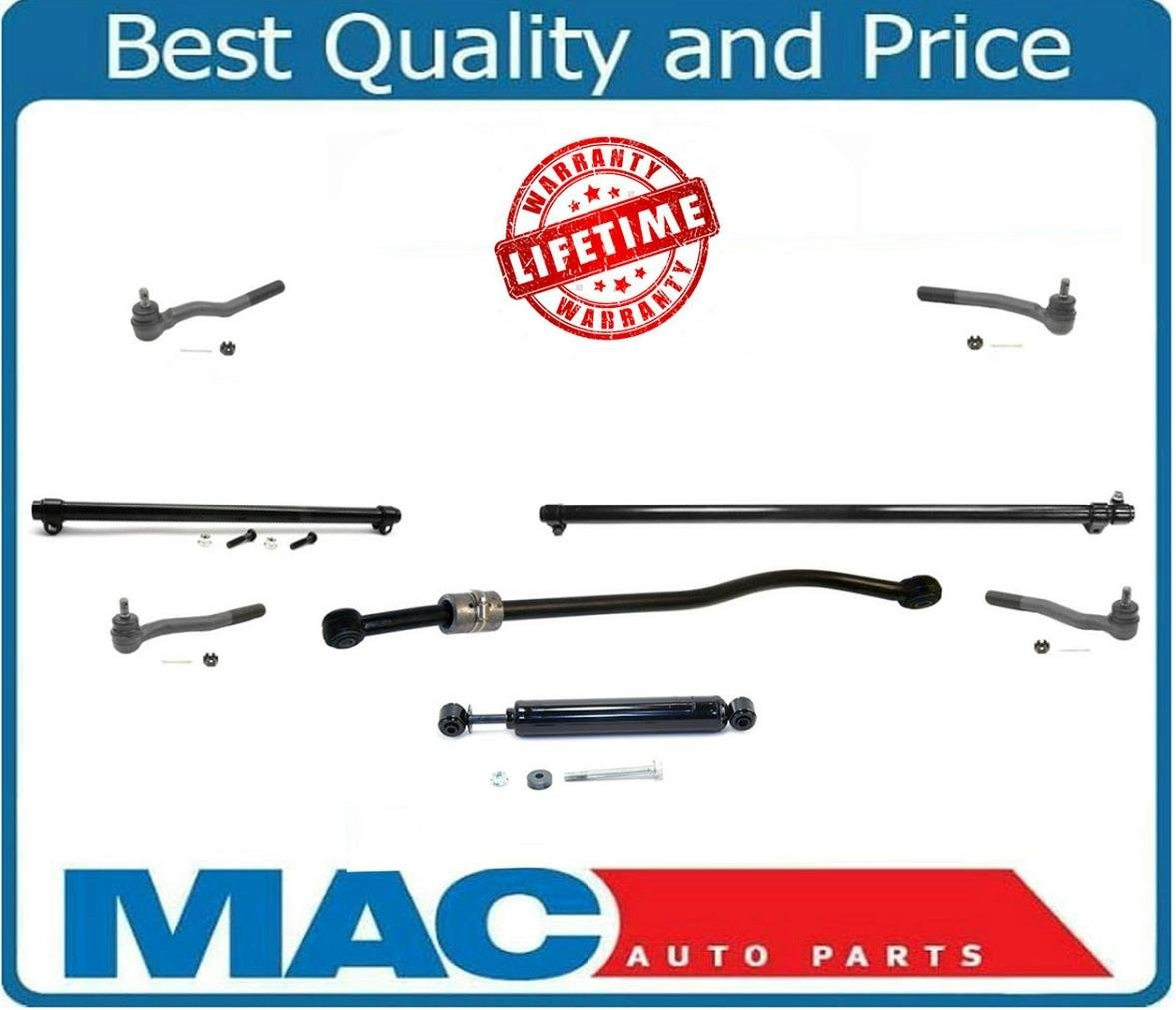 amazon com: mac auto parts 130451 99-04 jeep grand cherokee steering kit  tie rods sleeves and steering stabilizer: automotive