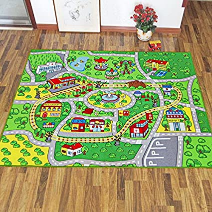 Amazon Com Huahoo 51 X 75 Children Learning Carpets Kids Rug Kids