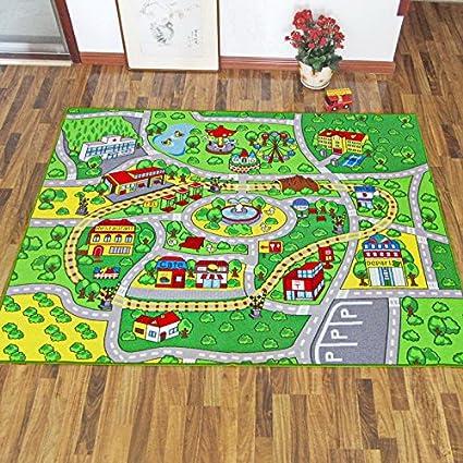Amazon Com Huahoo 51 X 75 Children Learning Carpets Kids Rug Kids