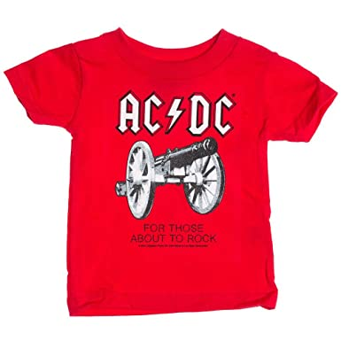 Cannon AC//DC Kinder T-Shirt