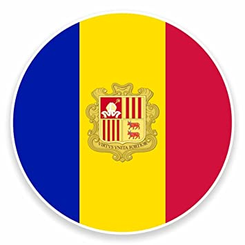Andorra Flag Vinyl Decal Sticker ** 5 Sizes **