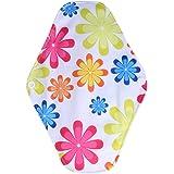 Almohadillas menstruales de tela reutilizables, 10 tipos de mujeres Almohadilla lavable reutilizable de tela Paño…