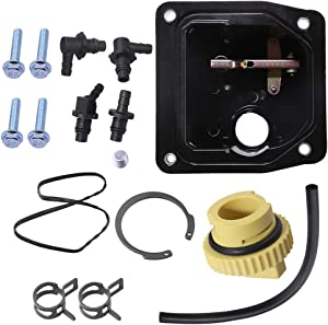 2455908 Mechanical Fuel Pump Kit for Kohler CH18 CH20 CH23 CH25 CH27 CH620 CH640 CH670 CH680 CH730 CH740 CH750 Engines w/Oil Cap Hose Plug Screws Fitting Clamp