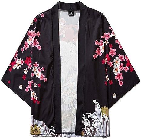 Fashion SHOP Hombres Mujeres Kimonos japoneses Ropa Kimono ...