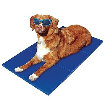 KKmoon Tirol alfombrilla de Gel de refrigeración Cool camas de mascota Perro Gato verano para cama