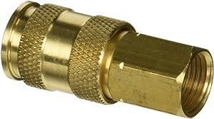 """Milton (S-766) 3/8"""" FNPT Female V-Style High-Flow Coupler"""
