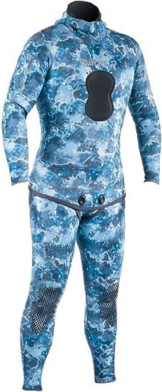 Amazon.com: Mares Pure Instinct neopreno azul camuflaje 3.0 ...