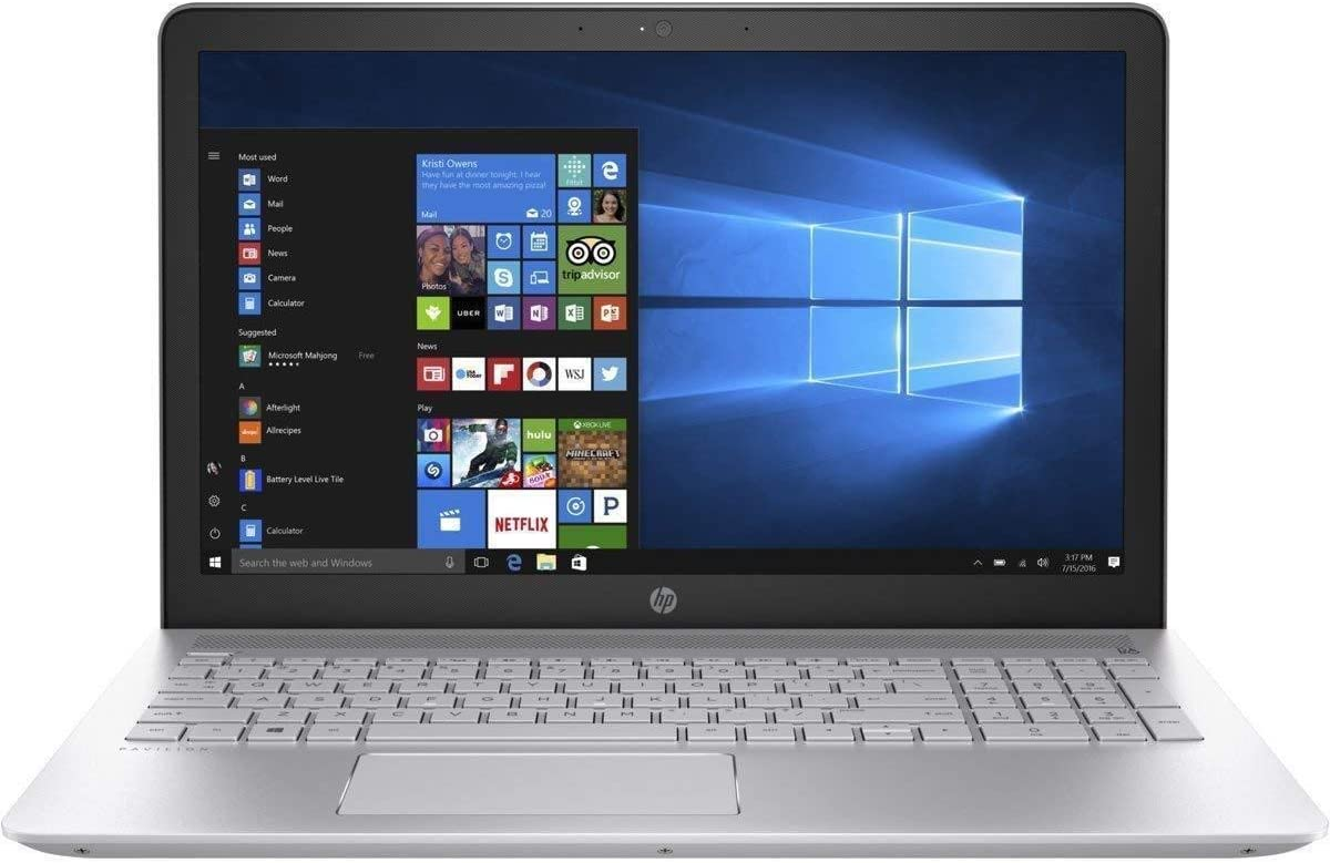 HP Pavilion 15.6-inch Full HD Touchscreen Laptop PC, Intel Core i5-8250U, 8GB DDR4 Memory, 256GB Solid State Drive, Intel UHD Graphics 620, HDMI, Type-C, 802.11b/g/n/ac, Card Reader, Windows 10 Home