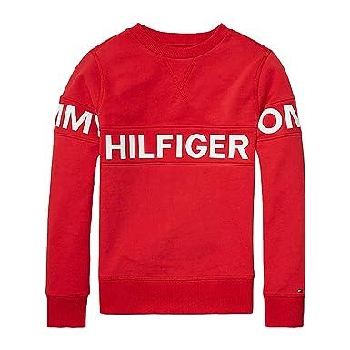 Tommy Hilfiger KB0KB03382 Sweat shirts Enfant Rouge 6A