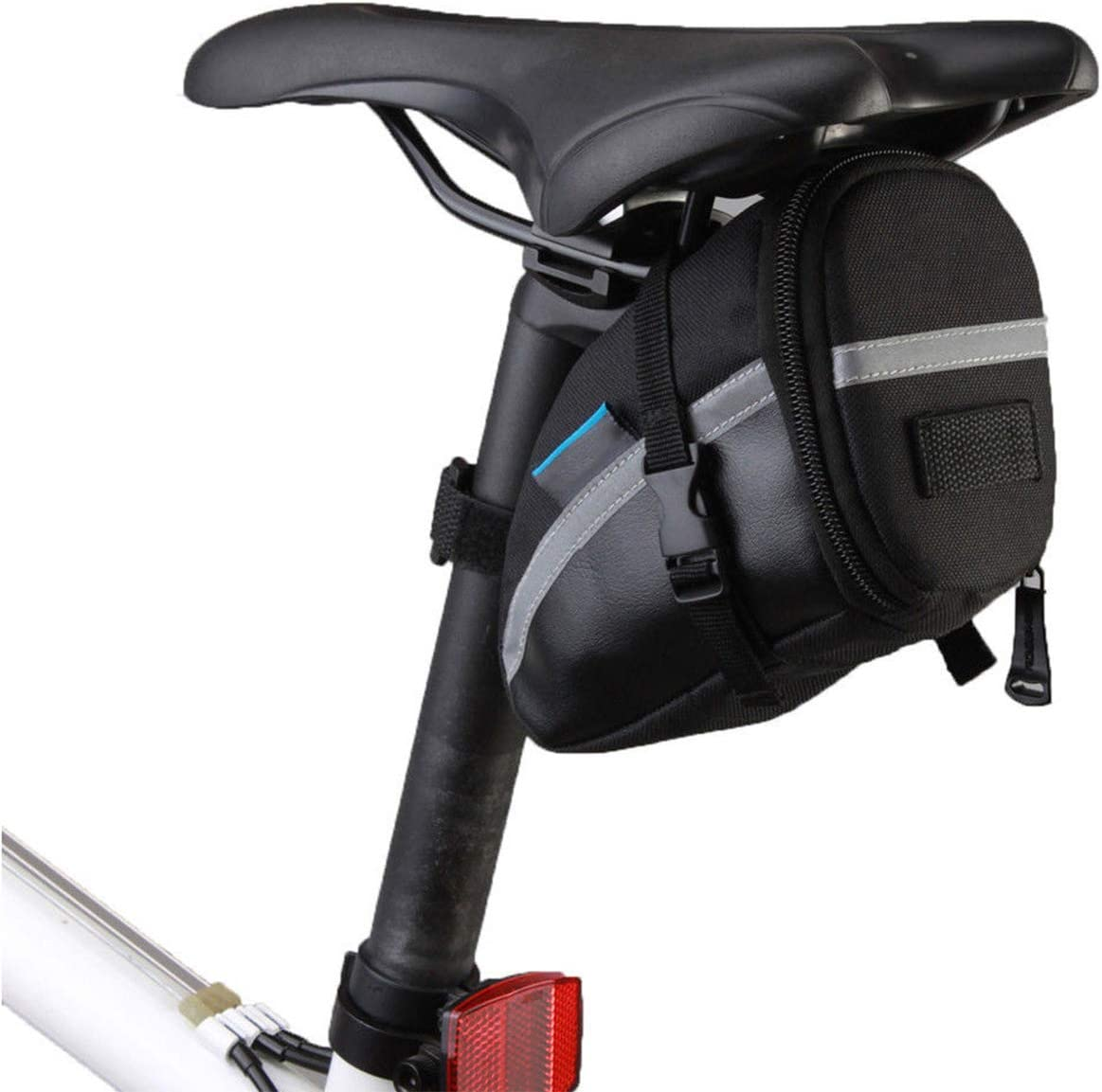 Waterproof Bike Saddle Bag Bicycle Under Seat Storage Tail Pouch Cycling Bags