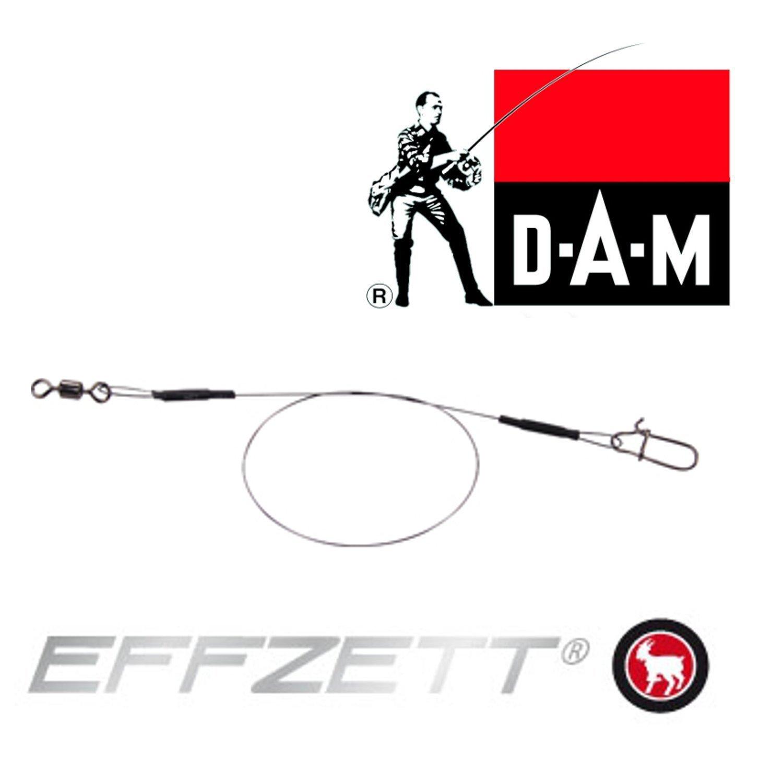 DAM Fz Effzett Titanium Leader 20cm 7kg 4968107 Stahlvorfach