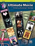 Ultimate Movie Instrumental Solos: Trumpet, Level 2-3 + CD
