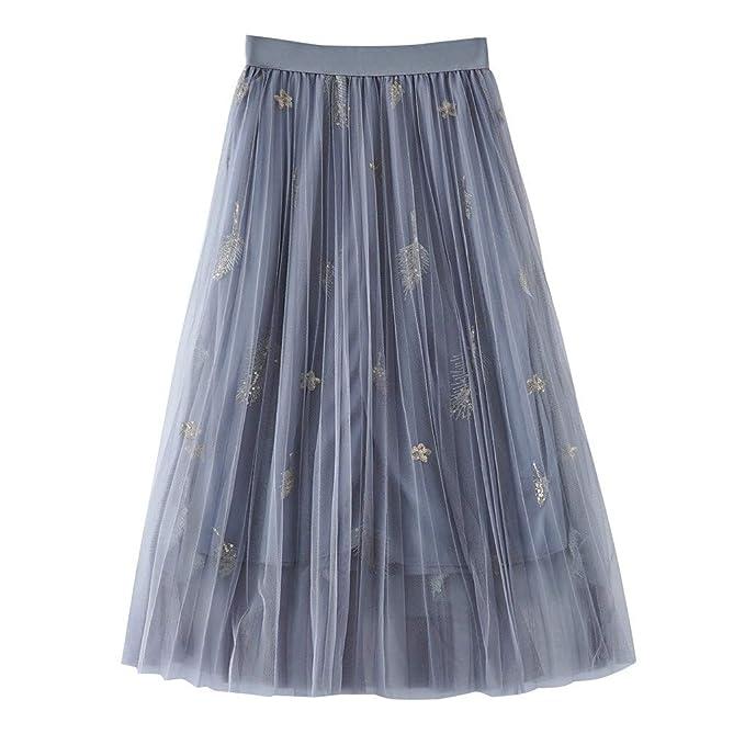 Faldas Cortas Volantes Kawaii, Falda Plisada de Cintura Alta para ...