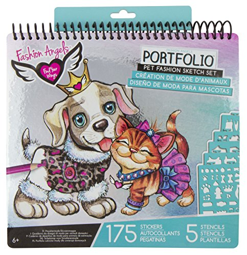 Fashion Angels Pet Lovers Fashion Full Size Sketch Portfolio