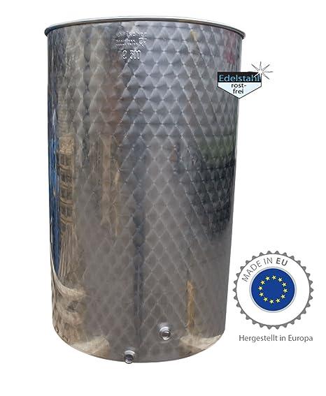 immervoll Tank/300 litros Barril de acero inoxidable ...