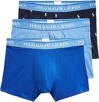 Ralph Lauren - Boxer Hombre Pack de 3 Piezas Color Azul Cielo/Azul ...