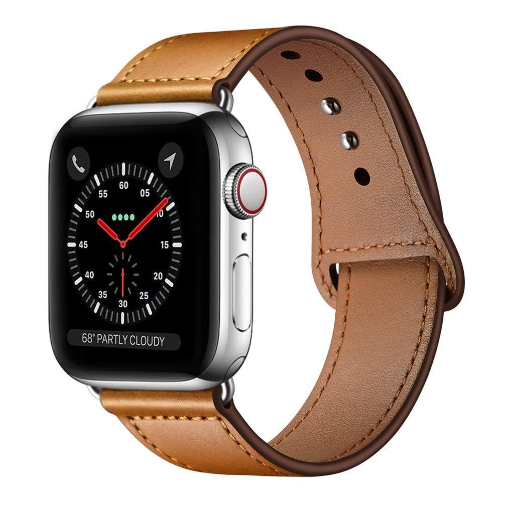Malla Cuero para Apple Watch (42/44mm) KYISGOS [7QWVVLBK]
