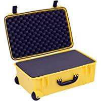 Seahorse SE920 Protective Wheeled Case with Foam (Gun Metal)