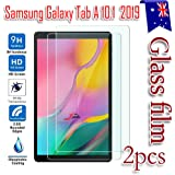 "for Samsung Galaxy Tab A 10.1"" 2019 T510 T515 Scratch Resistant Tempered Glass LCD Screen Protector Film Guard (2 Pack)"