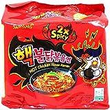 Samyang Hek Buldak Extra Spicy Roasted Chicken Ramen 5 Pack (Halal)