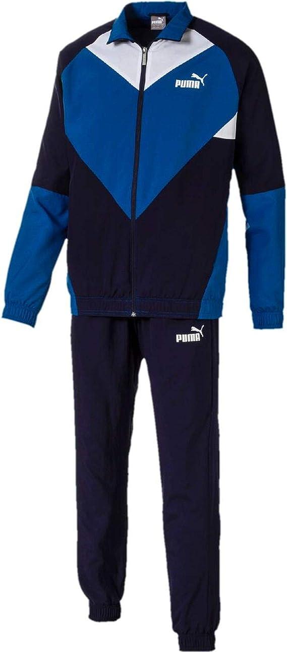 Puma CB Retro Chándal Woven Cl. Chándal para Hombre, Color Azul