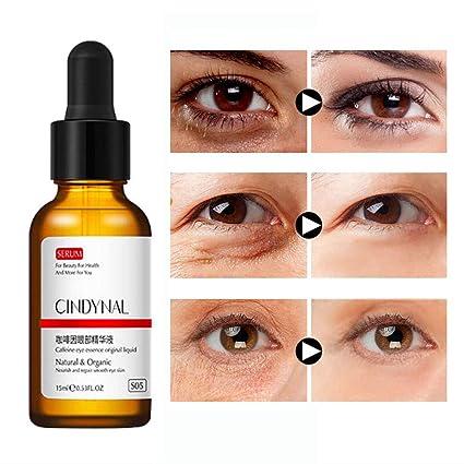 Amazon.com: Angmile - Sérum para ojos de cafeína que reduce ...