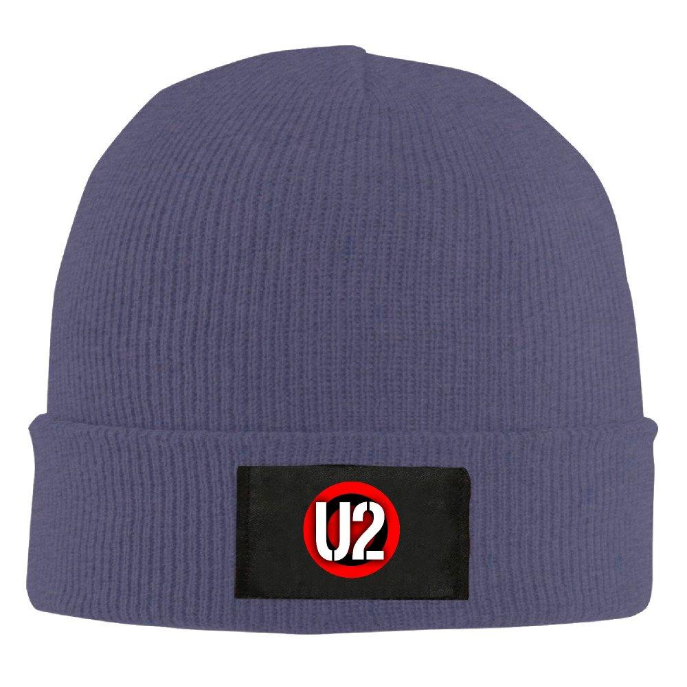 da9623b1c25 Amazon.com  U2 Band Logo Knit Hat Hipster Beanie Winter 2016 Woolen Cap Hat  Cap  Clothing