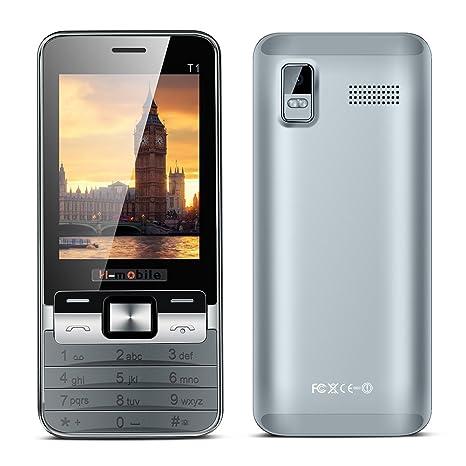 Kivors Smartphone Senior Teléfono Móvil T1 Dual SIM Mobile con ...