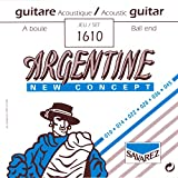 Savarez 1610 Argentine Acoustic Jazz Guitar Strings, Standard Tension Ball End