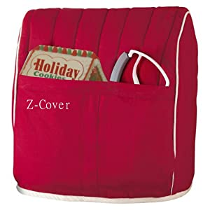 Best Mixer Cover For Tilt-Head Stand, Artisan and Classic Mixers - 100% Cotton, Z-Cover, Red