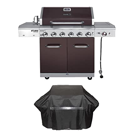 Image Unavailable Image Not Available For Color Nexgrill Deluxe 6 Burner Propane Gas Grill