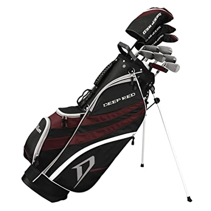 Amazon.com: Wilson Deep Red Tour – Juego de palos de golf y ...