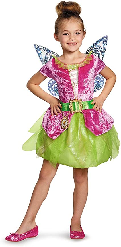 Disguise The Pirate Fairy Pirate Tinkerbell Classic Girls Costume  Medium//7-8