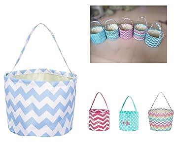 efd93cf754b Amazon.com   Mrwan Easter Basket for Kids Easter Bunny Bag Easter  Decorationse)   Baby