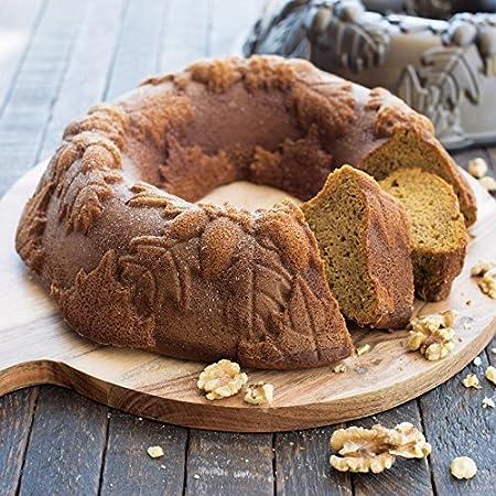 NordicWare 82348 - Molde para tarta en forma de corona de otoño: Amazon.es: Hogar