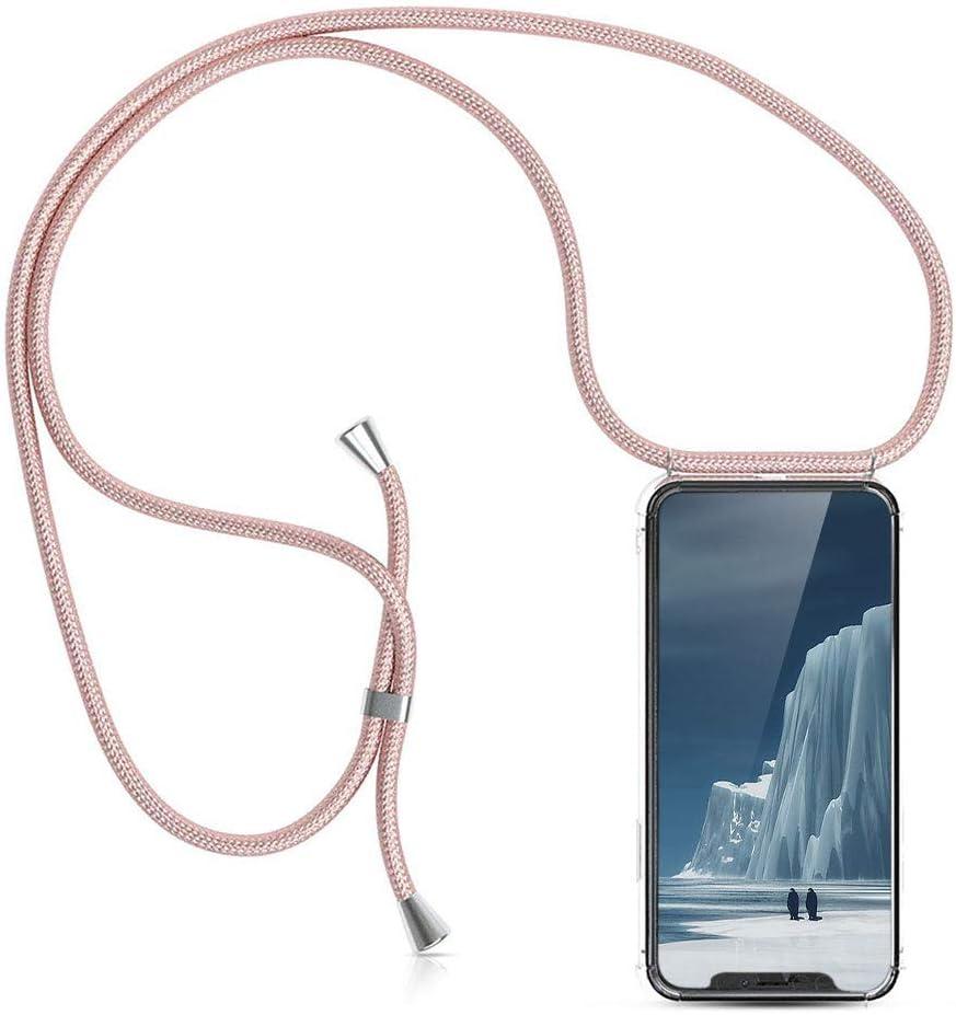 XCYYOO Carcasa de movil con Cuerda para Colgar iPhone 11(6.1)【Versión Popular 2019】 Funda para iPhone/Samsung/Huawei con Correa Colgante para Llevar en el Cuello -Hecho a Mano en Berlin