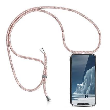Collana iPhone//Necklace Cordoncino KNOK case Custodia per Cellulare Girocollo per iPhone X Case Tracolla