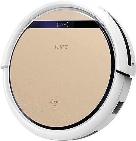 ILIFE V5 Pro Inteligente Robot Aspirador – Oro Rosa: Amazon.es: Hogar