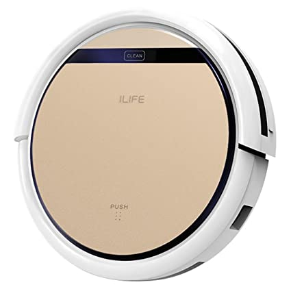 Amazon.com: ILIFE V5 Pro Intelligent Robotic Vacuum Cleaner - ROSE ...