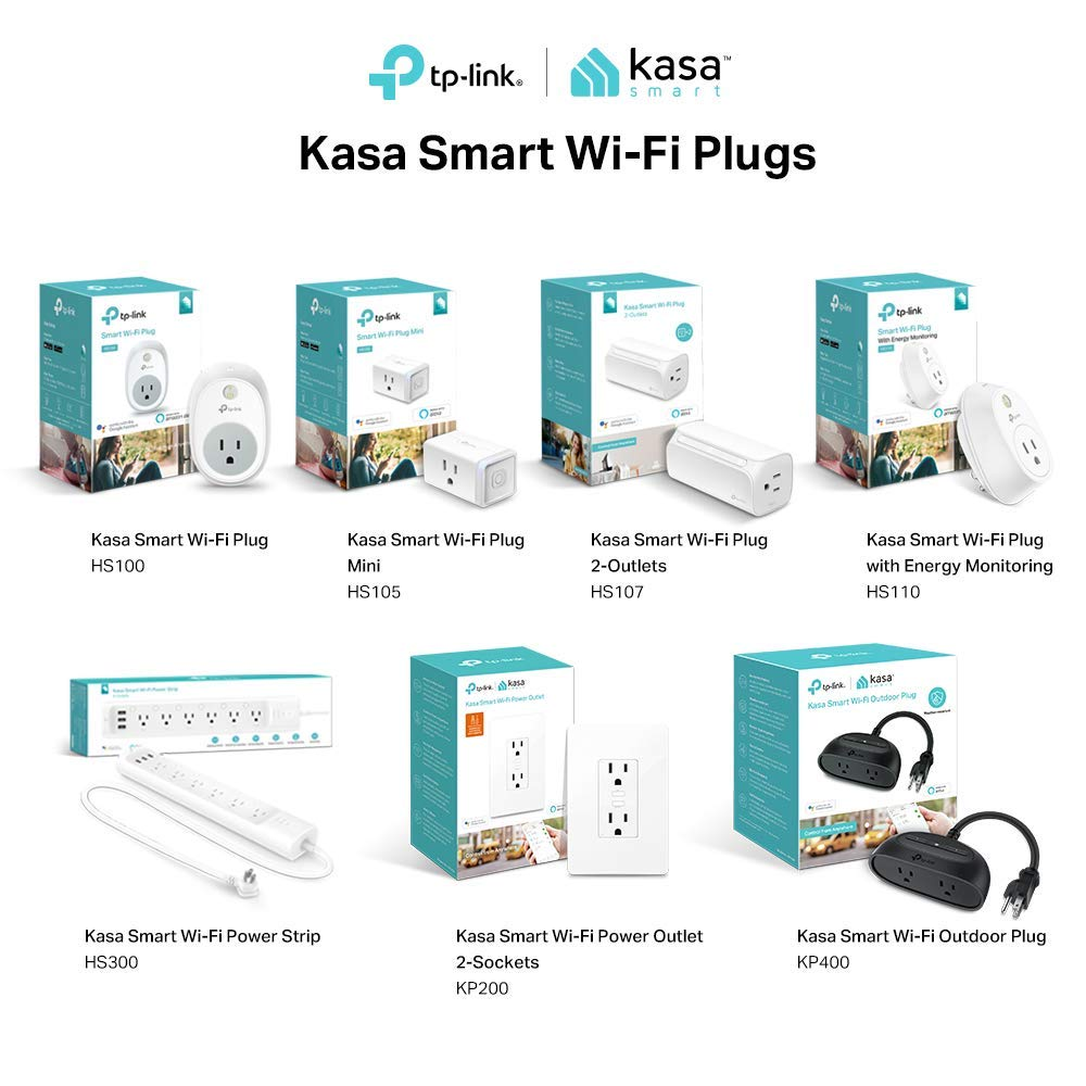 Kasa Smart WiFi Plug Mini by TP-Link - Reliable WiFi